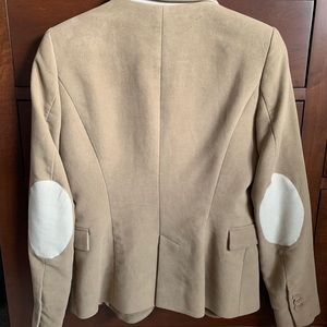 Zara Jackets & Coats - Zara Basic Blazer With Elbow Patches
